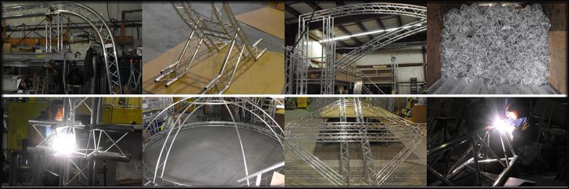 Custom Truss Fabrication, Aluminum Fabricators \u2013 Light Design Systems
