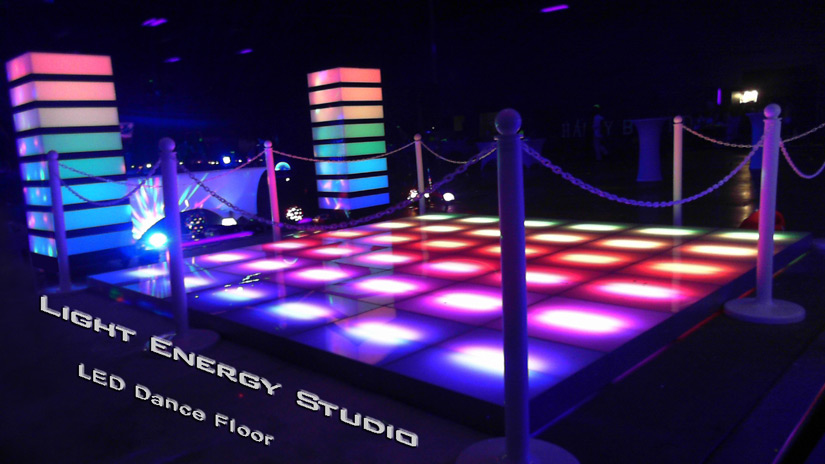 Led Dance Floor Video Dance Floor And Interactive Led