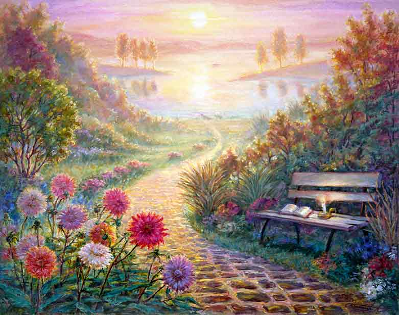 Embossed 3d Wallpaper Uk Quot Healing Path Quot For Your Healing And Good Luck Art