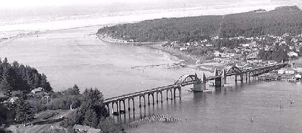 Siuslaw River and Bridge