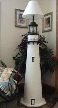 Lighthouse Floor Lamps - The Lighthouse Man