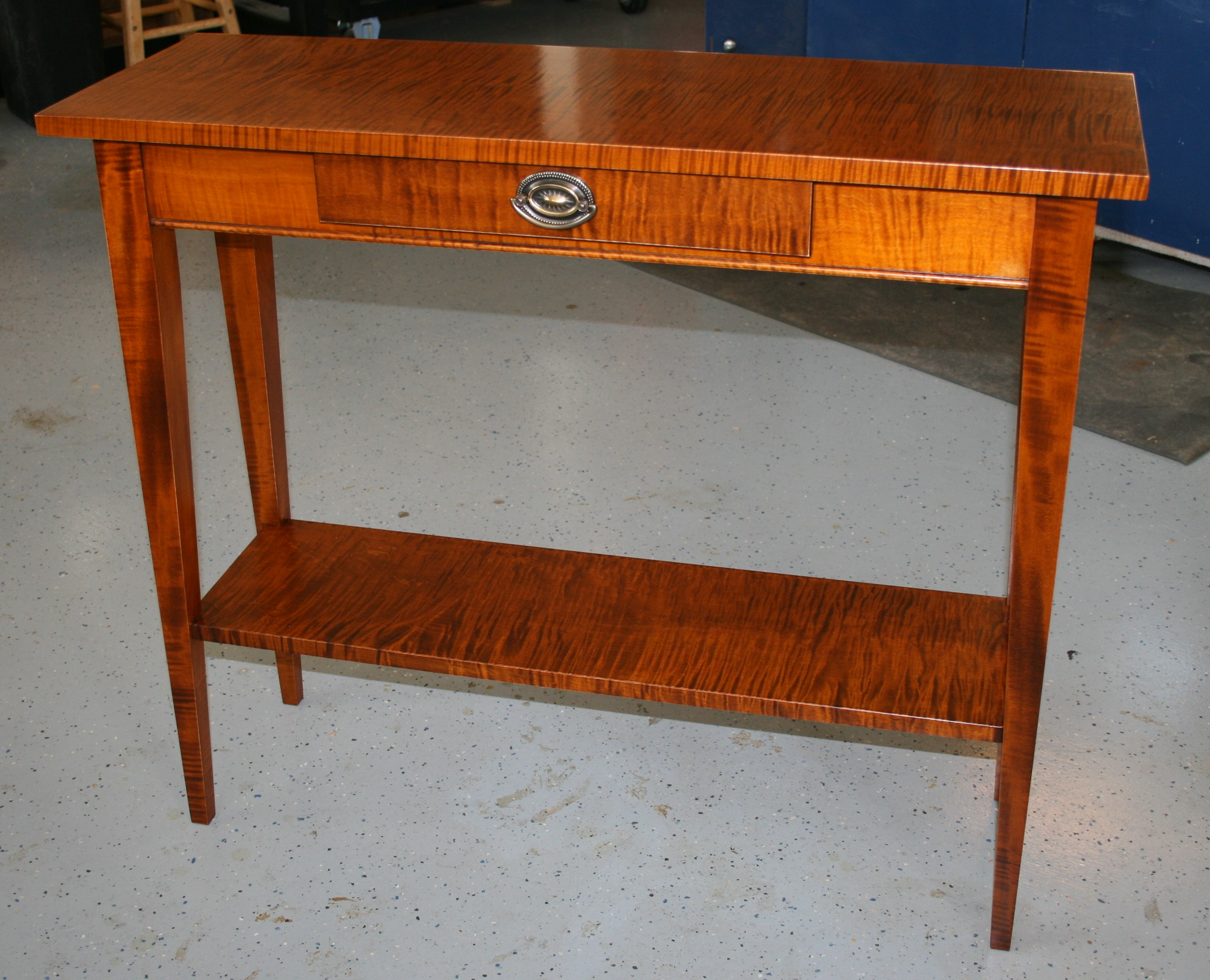 Vintage Hall Table Lighthouse Woodworking