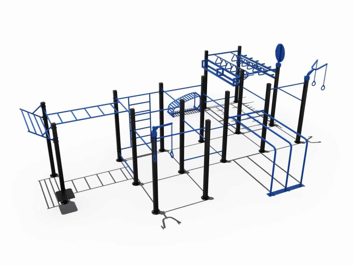 Cage Crossfit Exterieur Cage Street Workout Ultime Light In Fitness