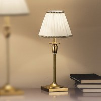 Orion Liebenau Antique Gold Table Lamp - Lighting Deluxe