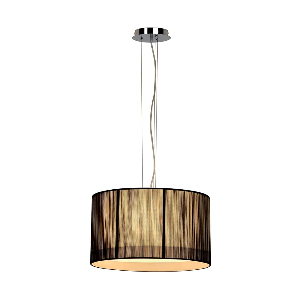 Ceiling Light Shades Lasson Black Drum Shade Ceiling Pendant Light