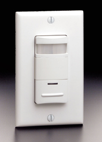 New Decora® Residential Manual-On Occupancy Sensor from Leviton Serves as Wall Switch with Automatic Shut-Off