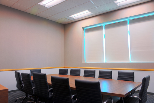 Cree and Cisco prove lighting enables IoT  a look at the first digital ceiling projectmindSHIFT Conference Room