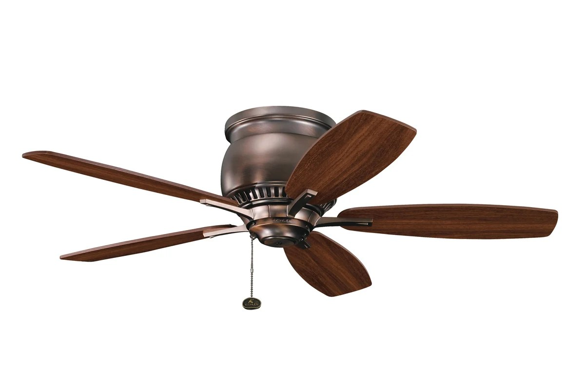 Dual Outdoor Ceiling Fans With Lights Kichler 300124obb Oil Brushed Bronze 42 Quot Indoor Ceiling