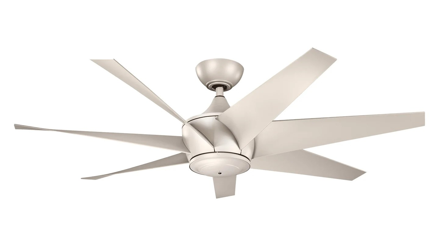 Silver Outdoor Ceiling Fans Kichler 310112ans Antique Satin Silver Lehr Ii 54 Quot Outdoor