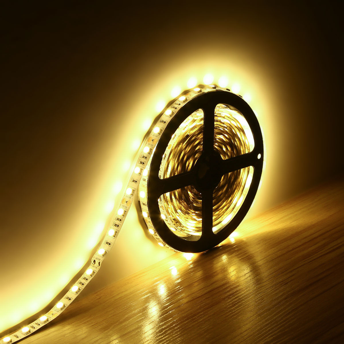 Lighting Ever Top Quality Led Fixtures 12v 5050 Led Strip Lights 16 4ft 5m Warm White Christmas