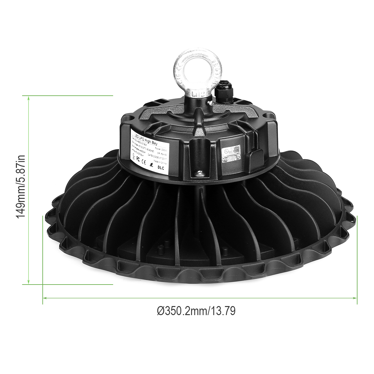 Lighting Ever Top Quality Led Fixtures 200w Ufo High Bay Led Lights 400w Hps Equivalent Led