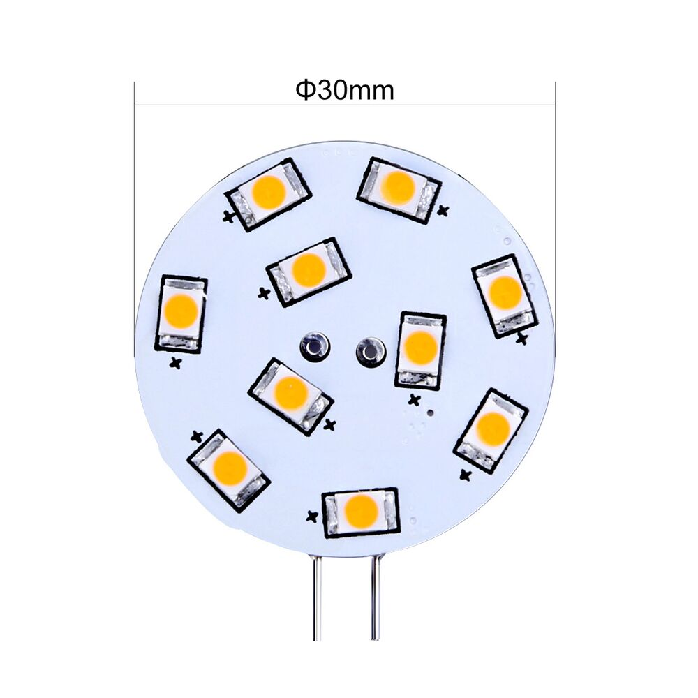 Led Birnen G4 1 5w G4 Led Stiftsockel 10 Leds 160lm Bi Pin Birnen