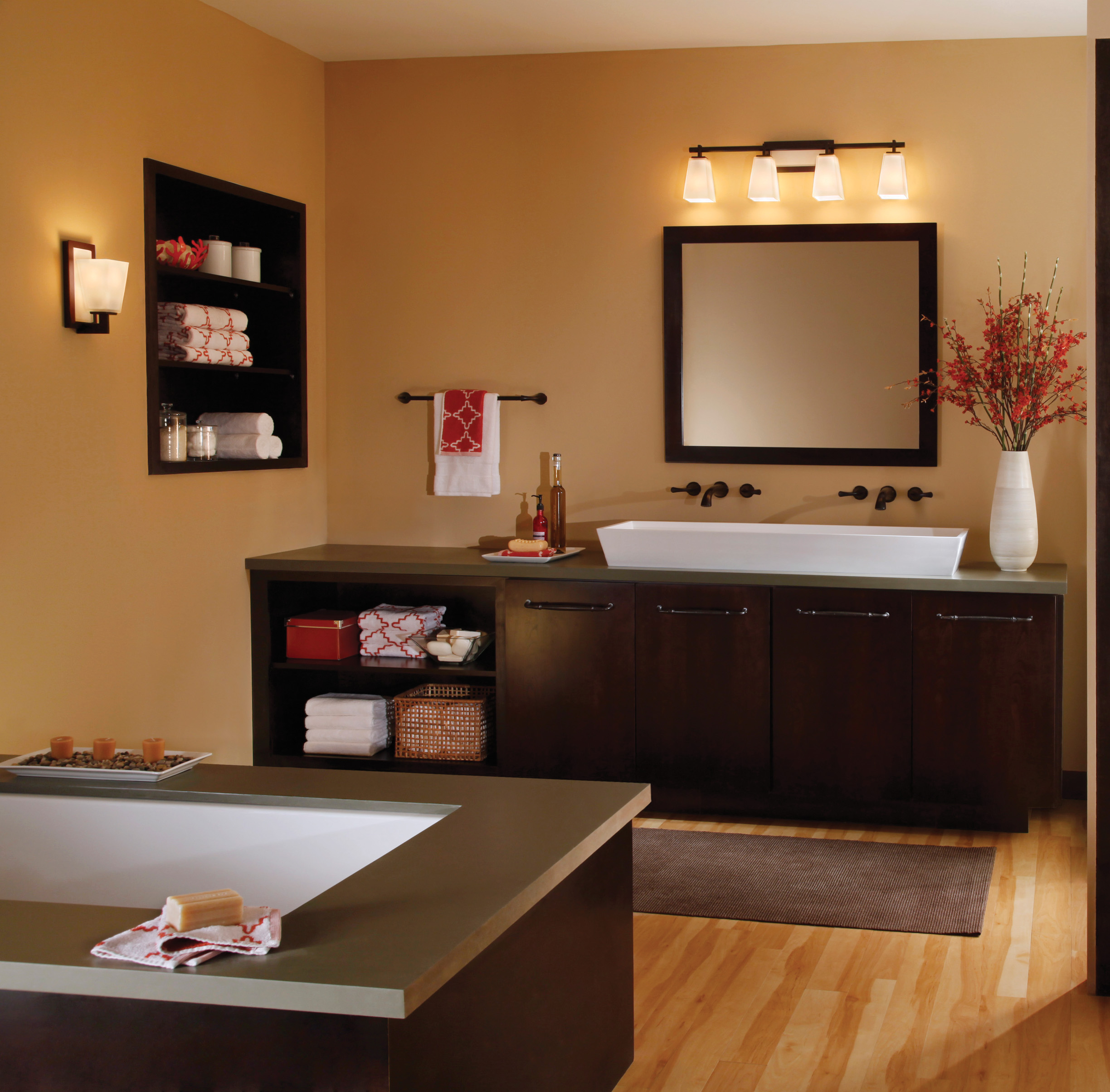 Bathroom Wall Lights Above Mirror Lighting Your Dream Bathroom Welcome To Lighting Inc Online
