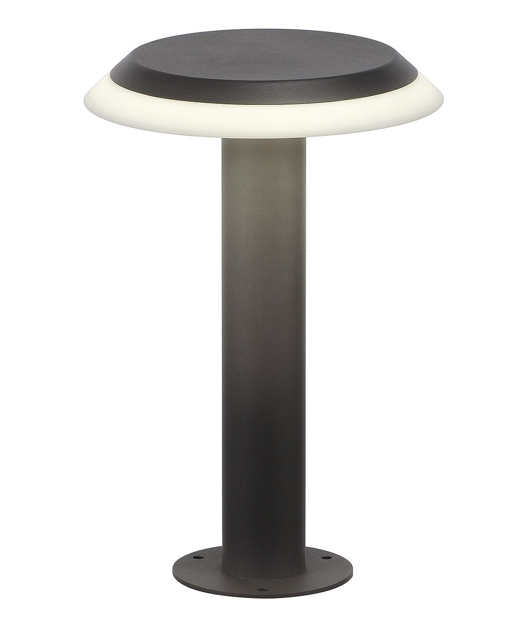 Exterior Led Commercial Lighting Disc Shaped Led Bollard Light H 300mm