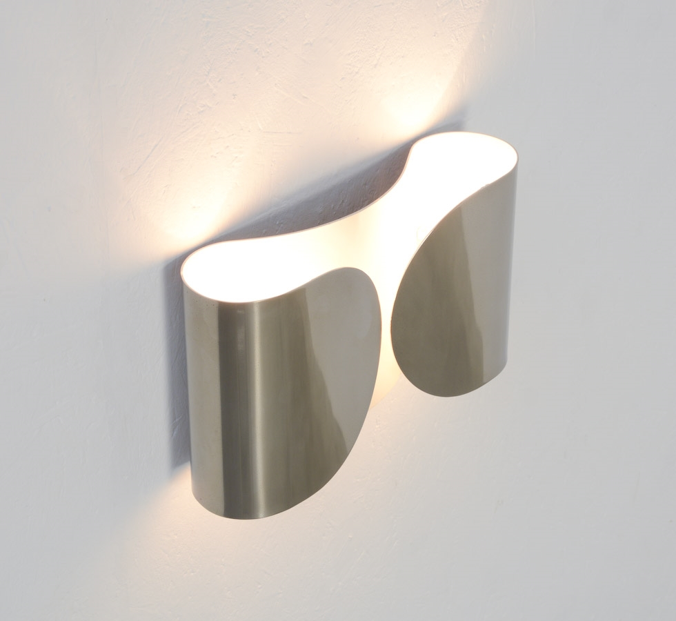 Low Voltage Outdoor Lighting Accessories Foglio Wall Light By Flos Available In Three Finishes
