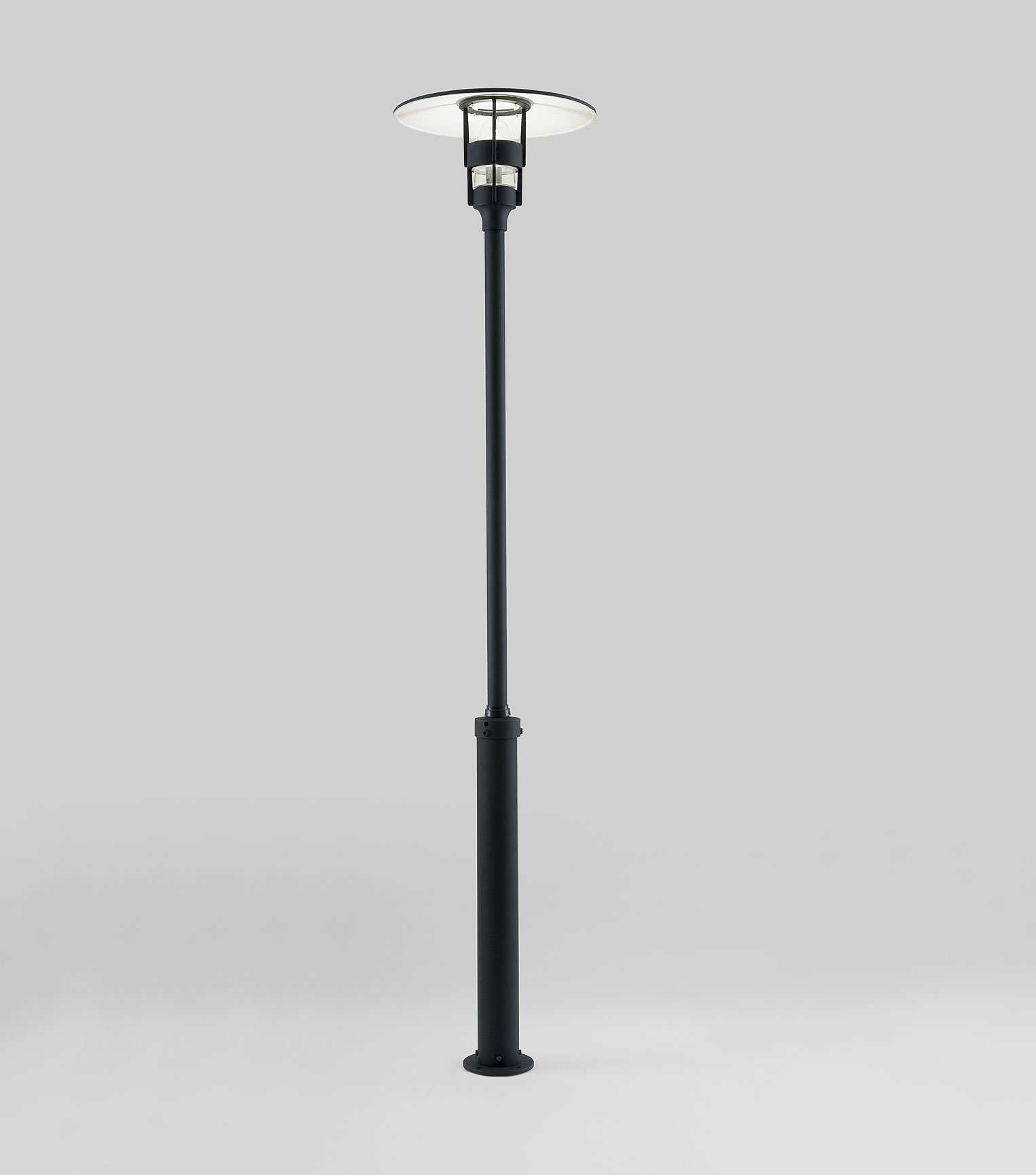 Indoor Street Light Lamp Modern Lamp Post In Black With Low Glare