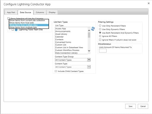 SharePoint Rollup Tool - Lightning Conductor Add-In