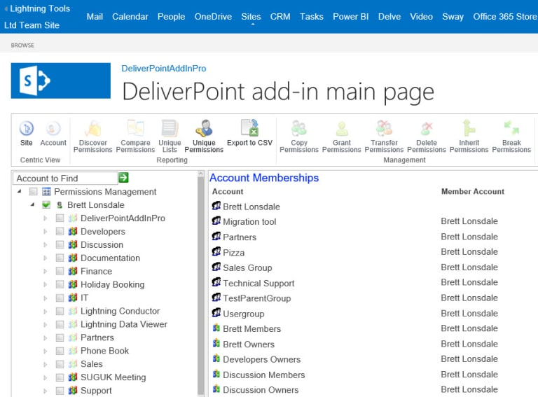 SharePoint Online Permissions Management Tool (for Office 365