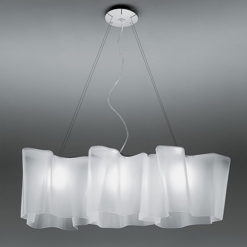 Artemide Suspension Logico Triple Linear Suspension By Artemide 0455028a