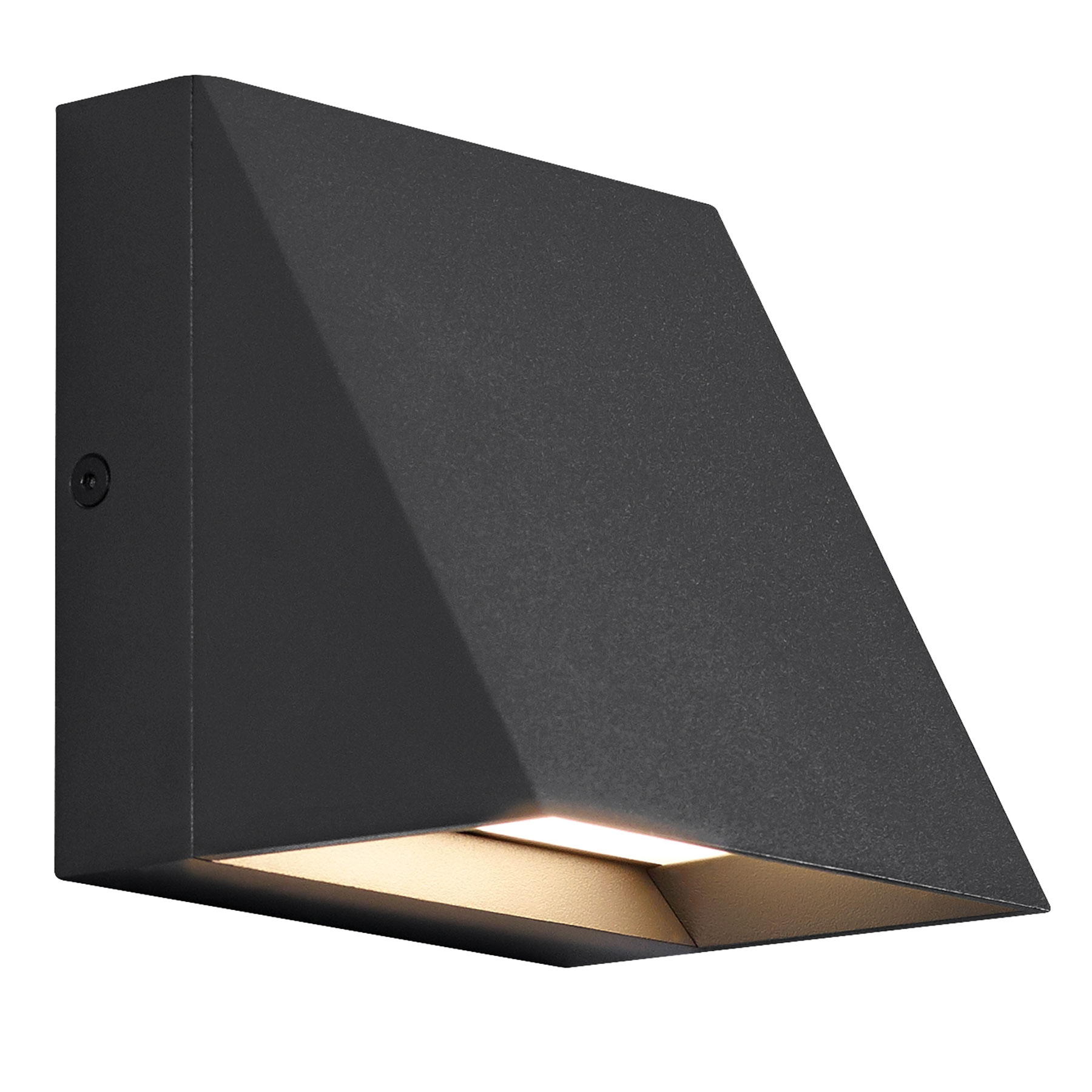Wall Light Pitch Outdoor Wall Light By Tech Lighting 700wspitsb Led830