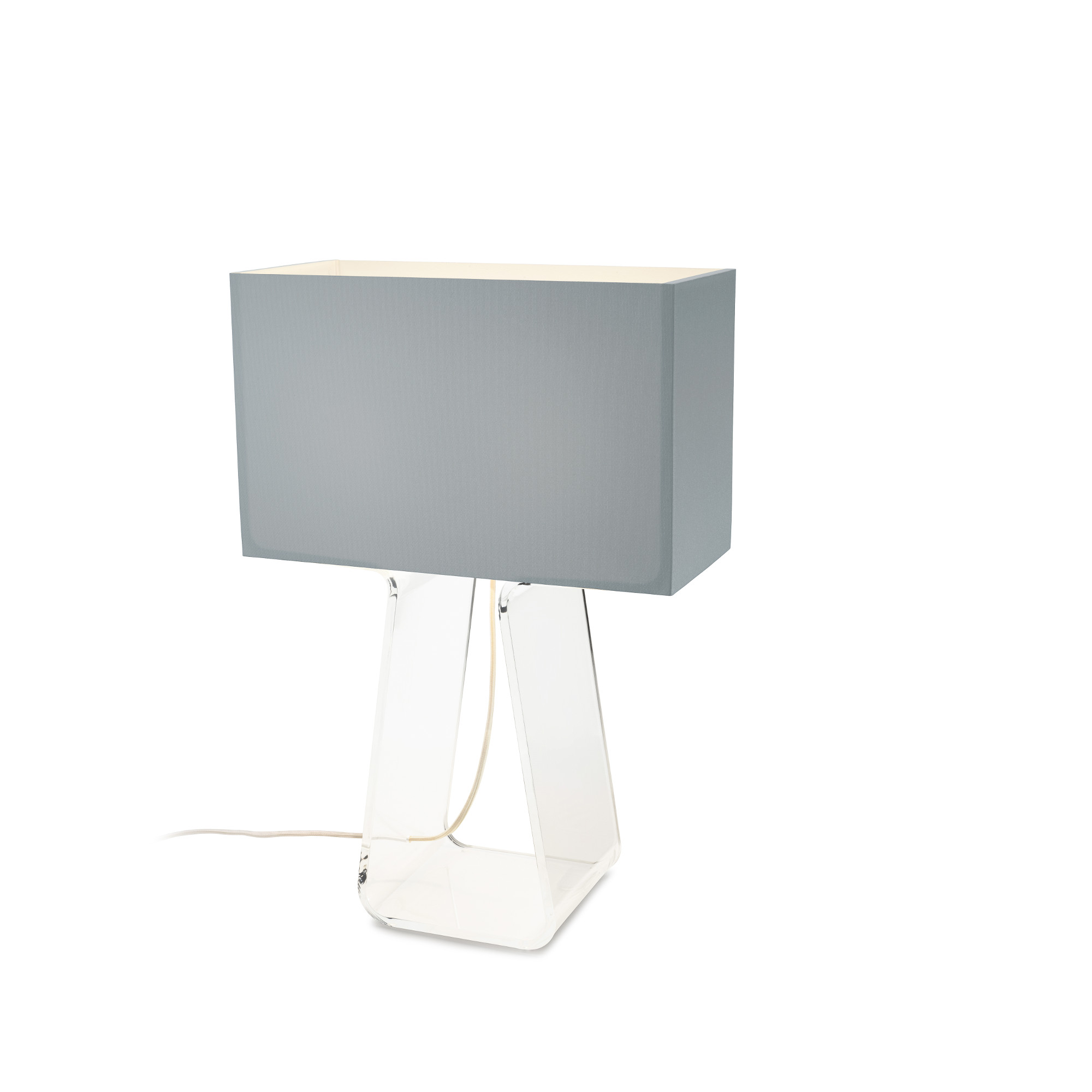 Lamp Slv Tube Top Classic Table Lamp By Pablo Tt 21 Slv Clr