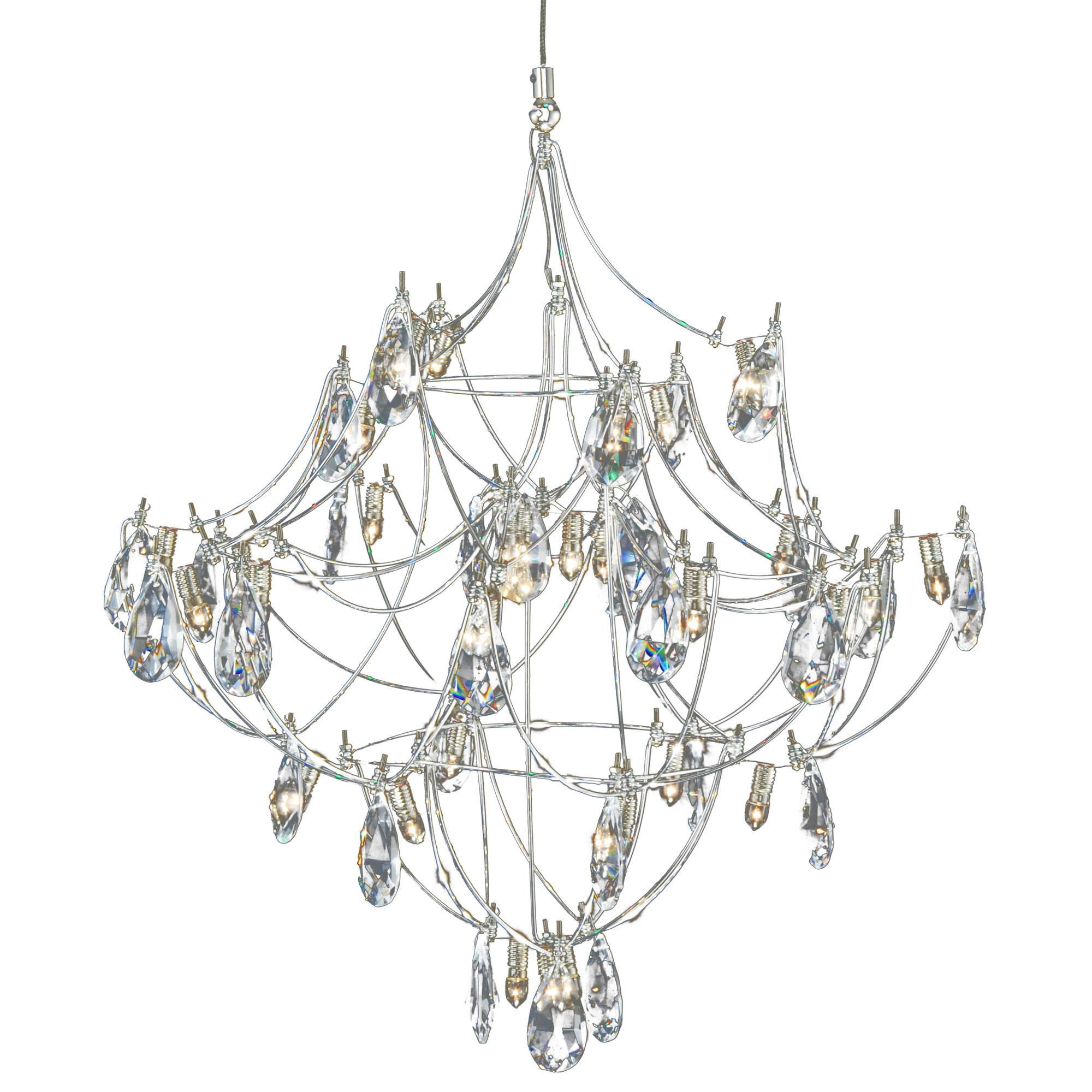 Galaxy Lighting Fj Crystal Galaxy Pendant By Pureedge Lighting Fj Cryga16 12 Sn