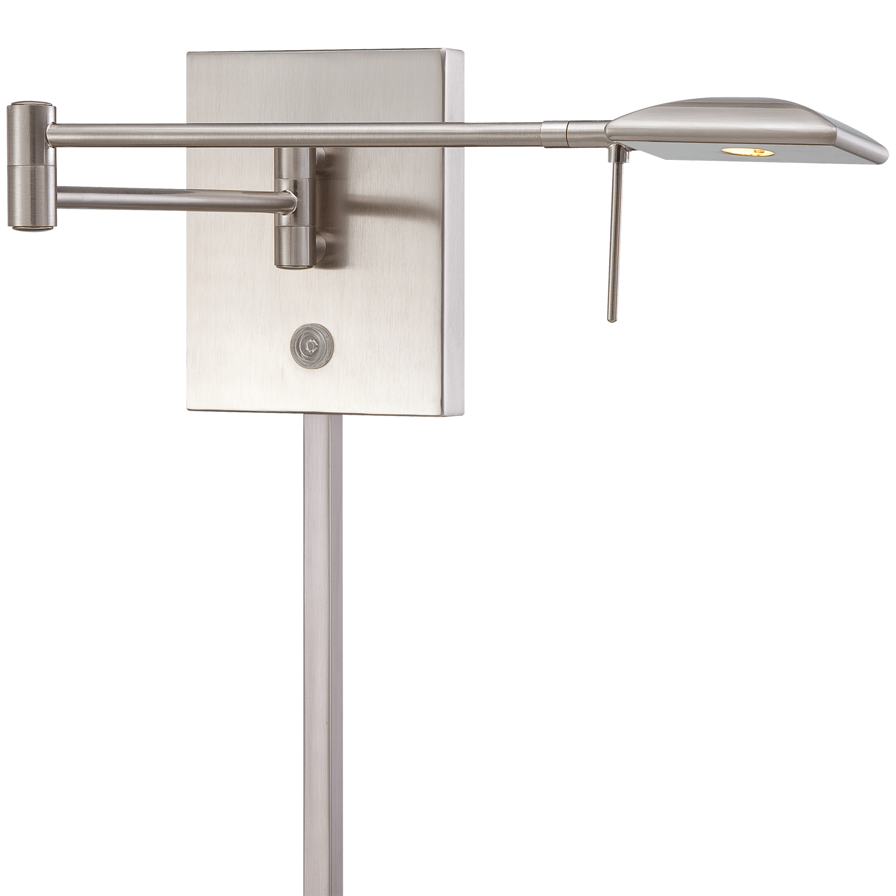 Swing Wall Lamp P4328 Led Swing Arm Wall Light By George Kovacs P4328 084