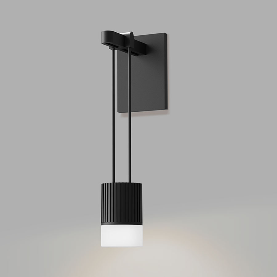 Luminaire Lighting Suspenders Wall Light With Suspended Cylinder Luminaire By Sonneman A Way Of Light Sls0220
