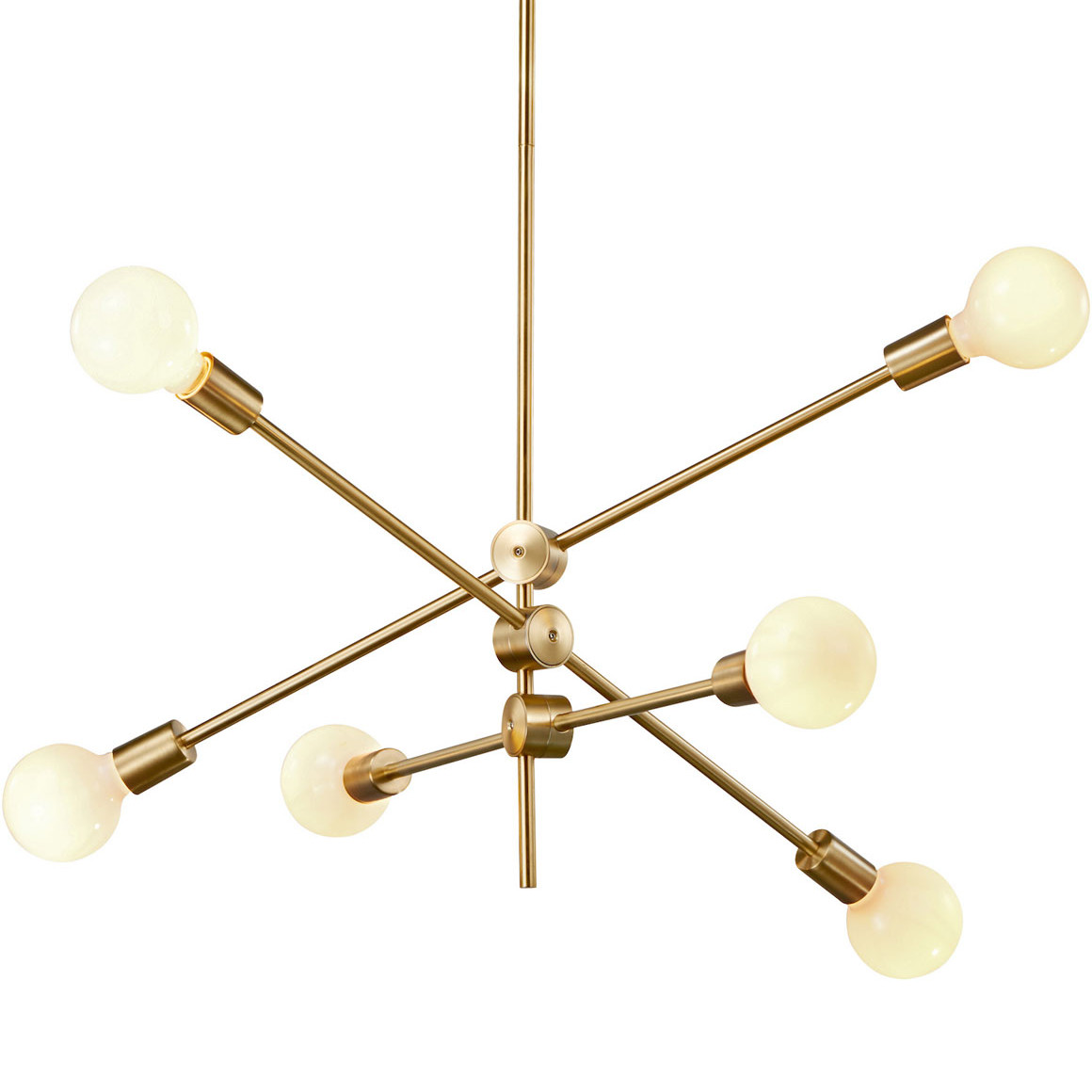 Led Chandelier Stria Led Chandelier By Stone Lighting Ch276bbla10