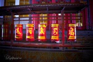 Молитвенные барабаны главного Хурула