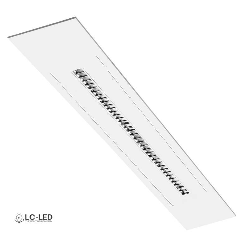 Bandraster Air Fonda Led Reflector Luxe 1495x148mm 4000k Industriële Verlichting - Verlichting Schakelen Via Internet