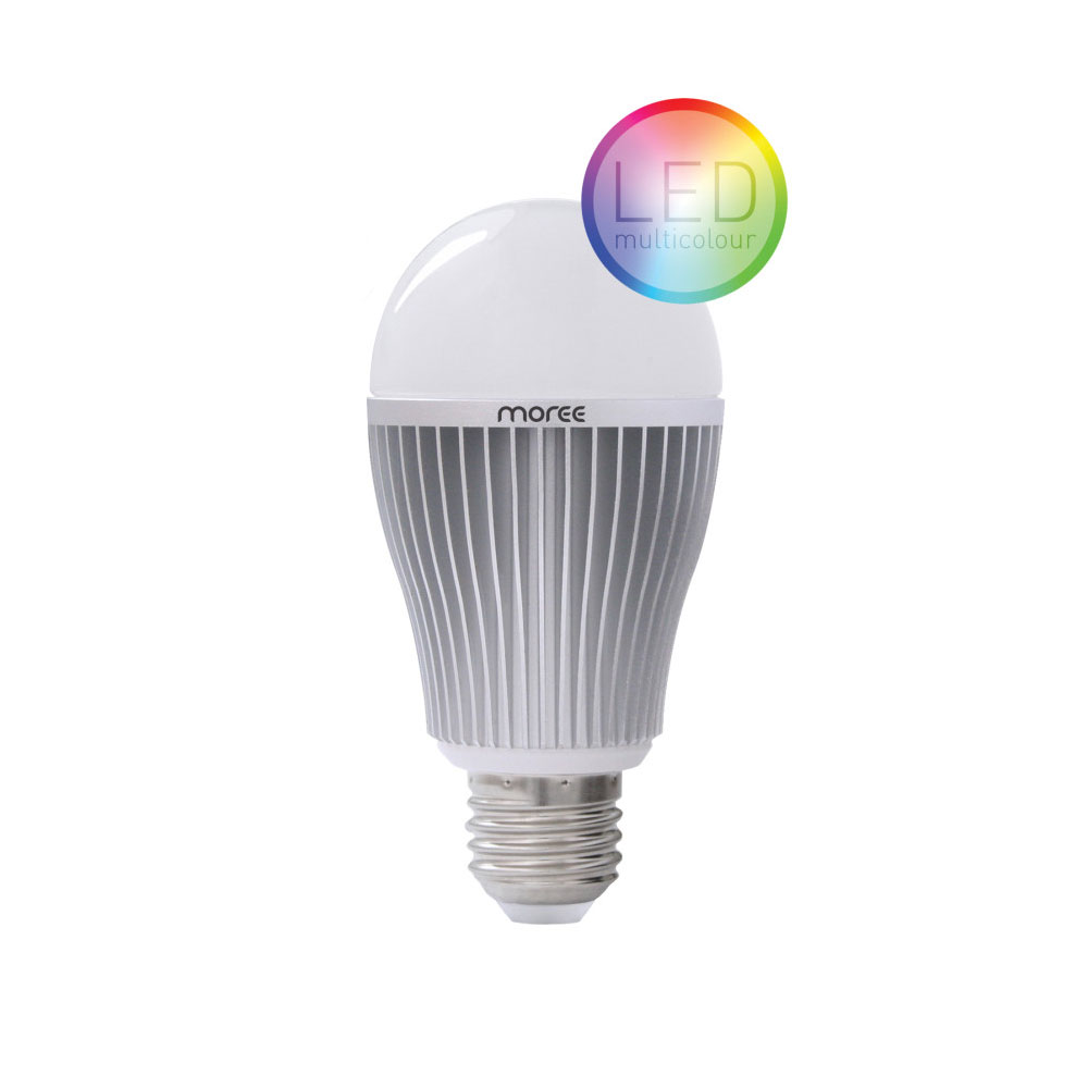 Lampara Led Colores 9w Rgbw Multi Color De La Lámpara Led Con Control Remoto