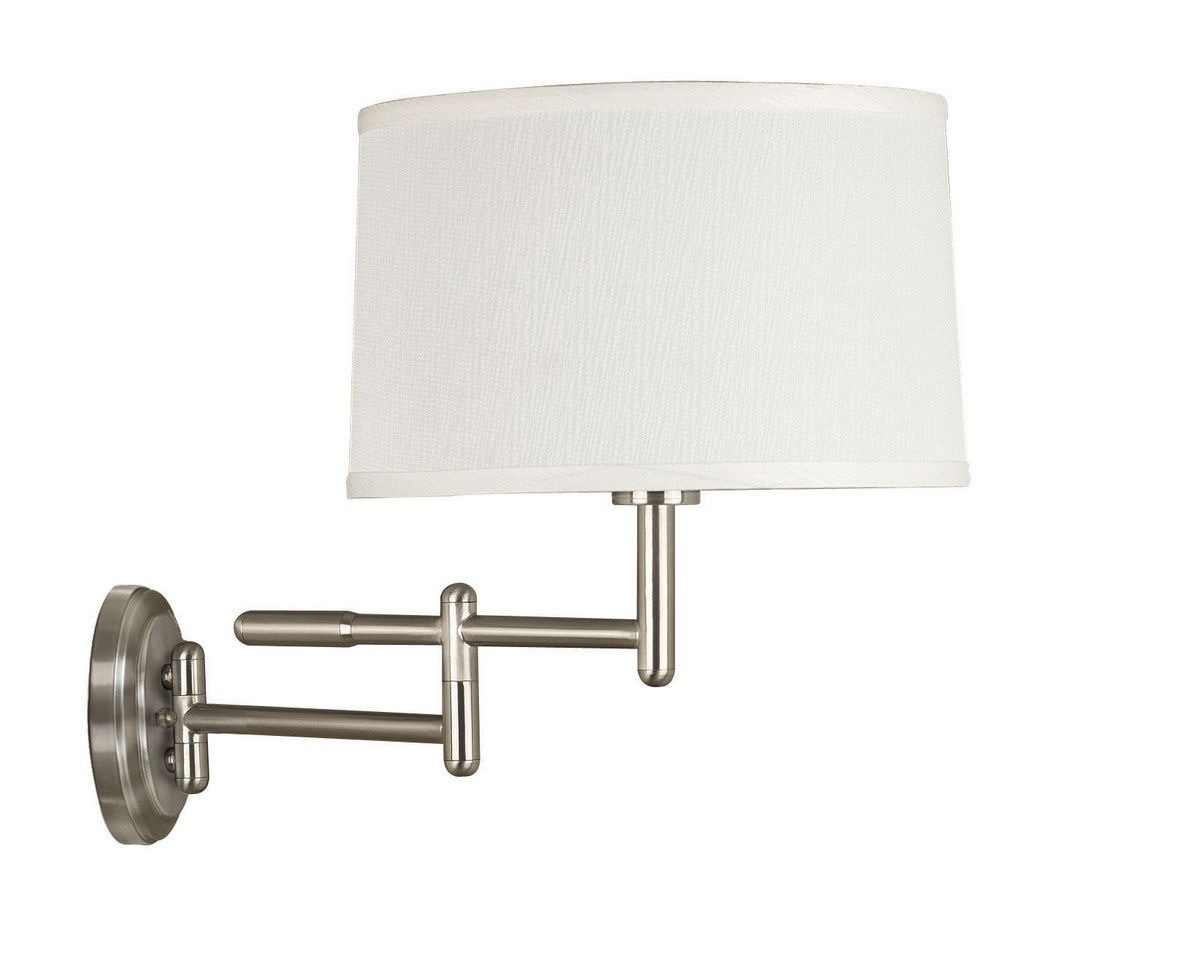 Swing Wall Lamp Kenroy Home Theta Swing Arm Wall Lamp In Brushed Steel