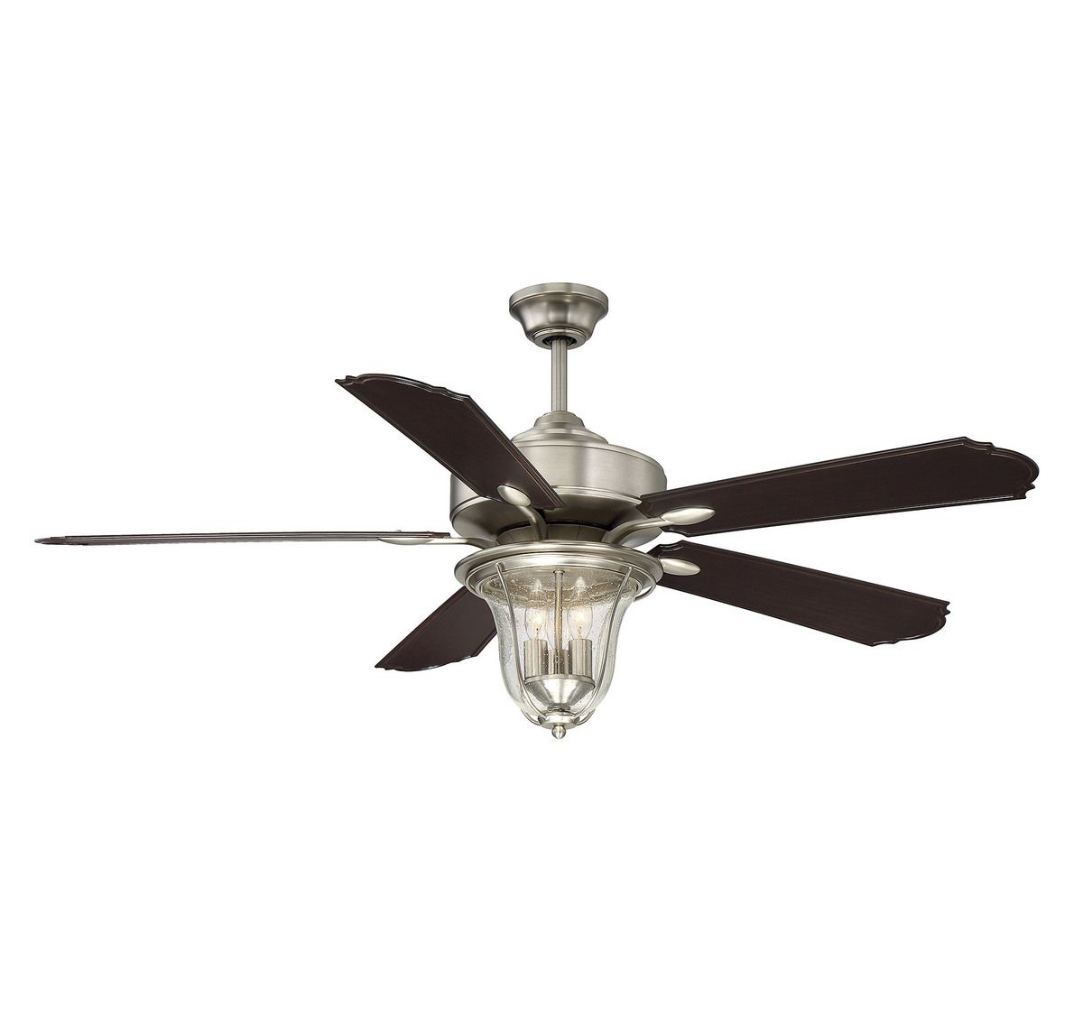 Rustic Ceiling Fan Light Fixtures Savoy House Trudy 52
