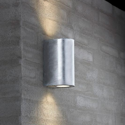 Outdoor Floor Lamps Nordlux Canto Maxi Outdoor Wall Light - Galvanised