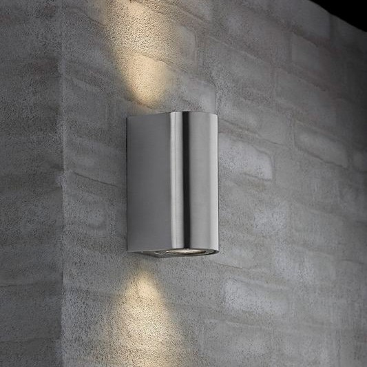 Suspension Led Design Nordlux Canto Maxi Outdoor Wall Light - Stainless Steel
