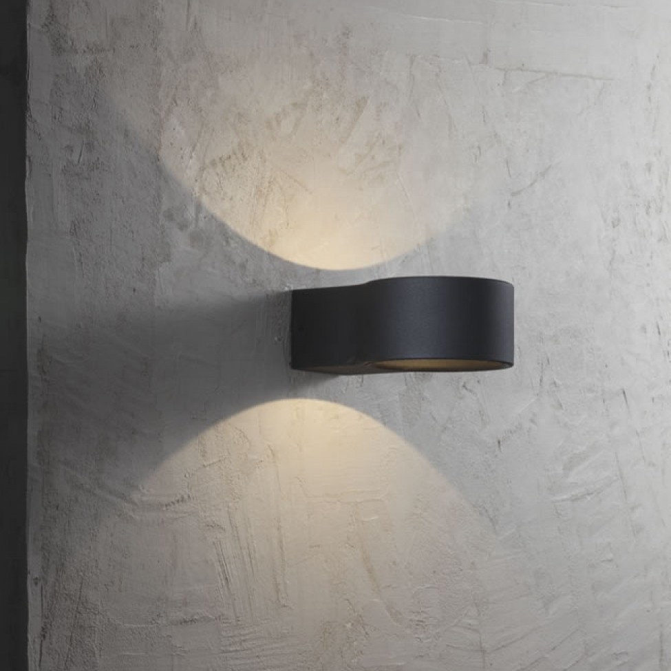 Bathroom Mirror Led Light Nordlux Ring Led Outdoor Wall Light Black