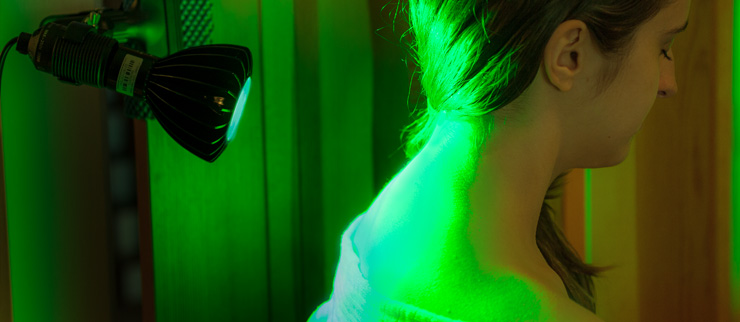 The Peak 535 Green LED Light Therapy Set, available in our store.
