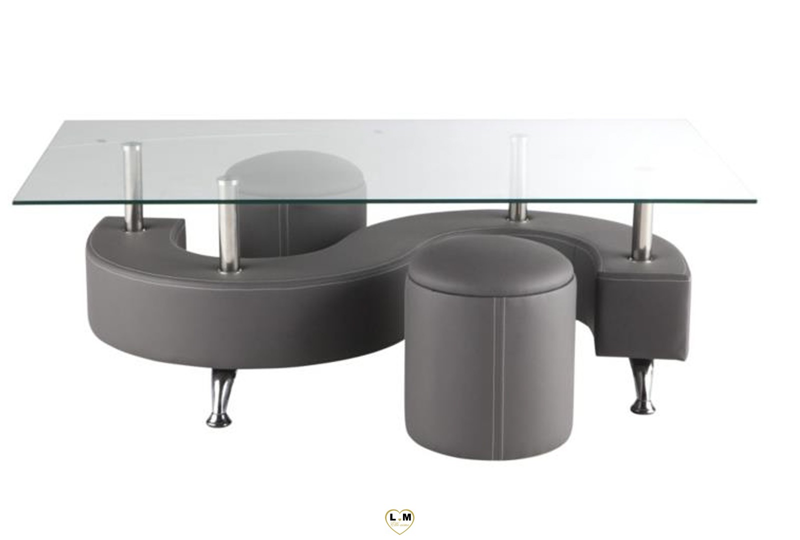 Table Haute Grise Table Basse Gris Amazing Location Table Basee Slate Grise