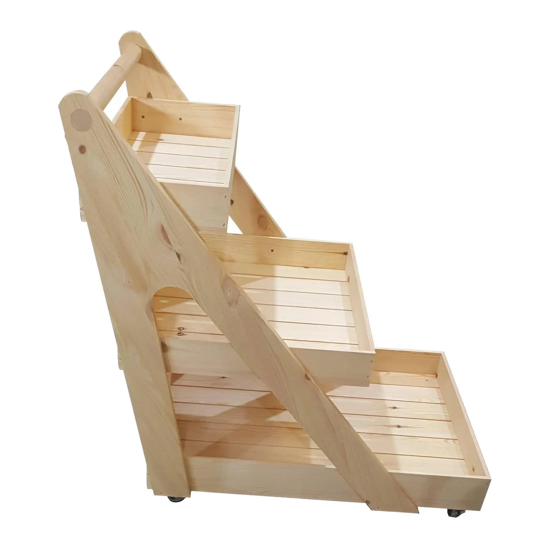 A Frame Trolley Rustic 3 Tier A Frame Trolley On Casters Incredibly Versatile