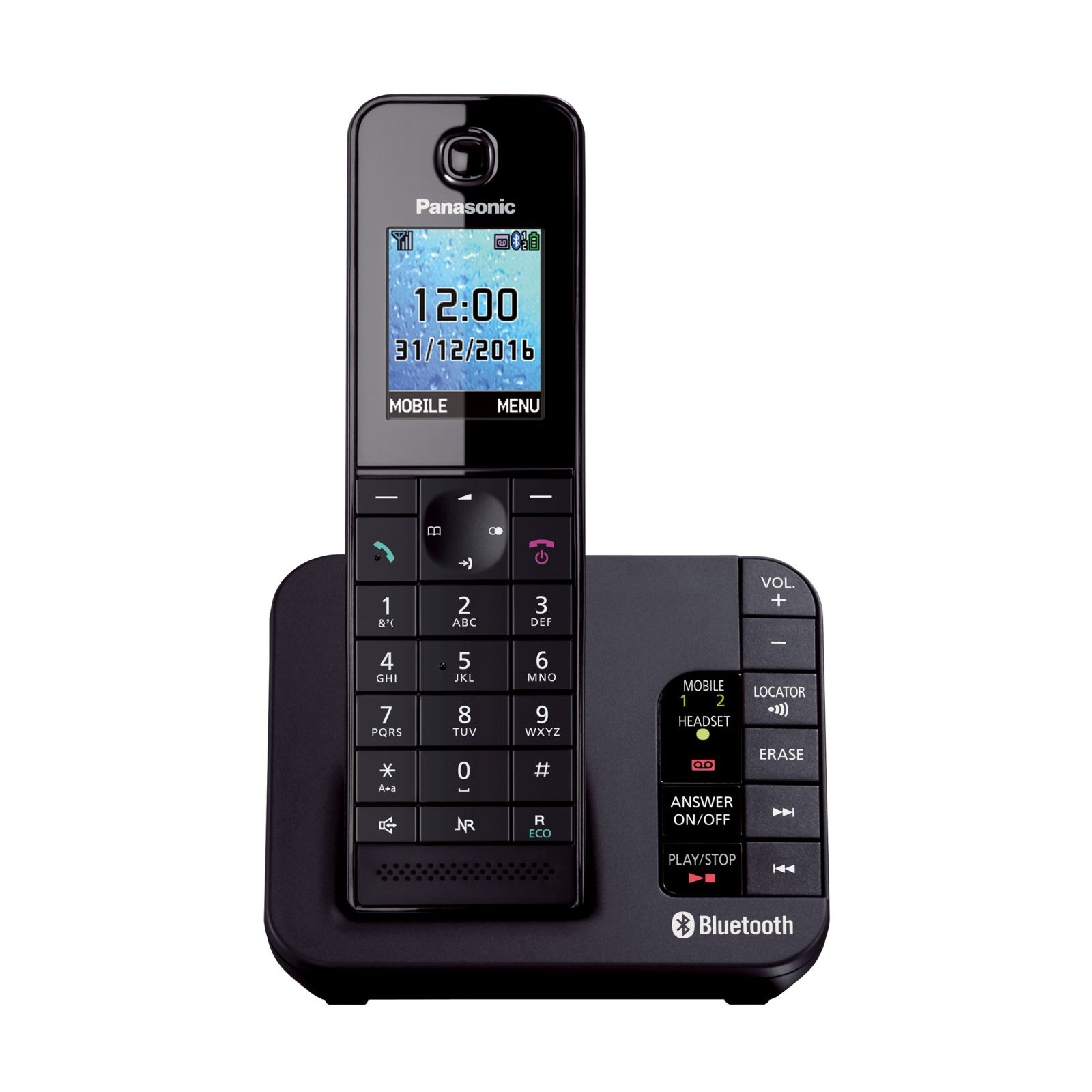 Wireless Phone Panasonic Kx Tgh260 Link2mobile Cordless Phone Ligo