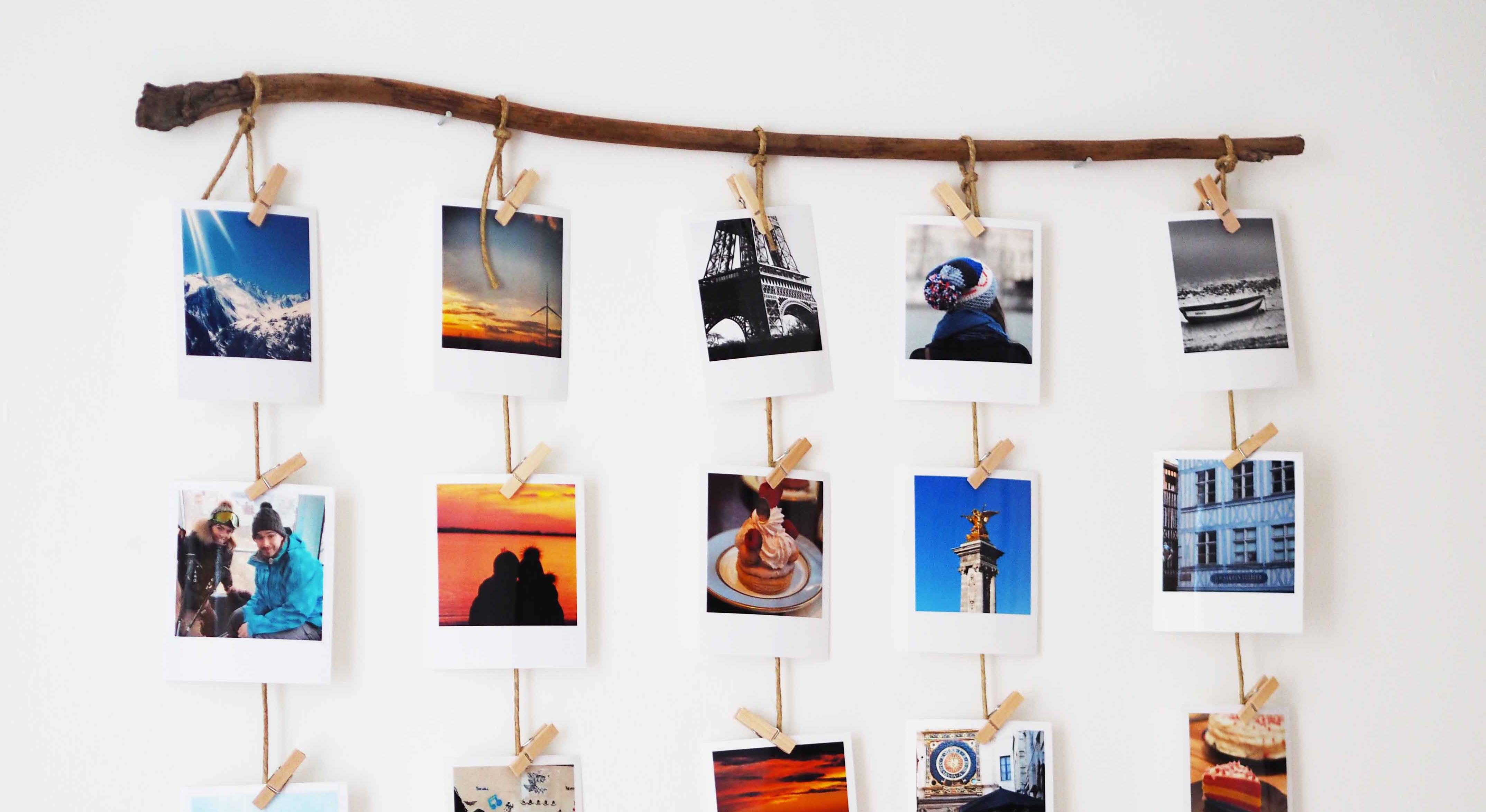 Accroche Photo Diy Comment Accrocher Ses Photos Polaroïd Like A Bobo