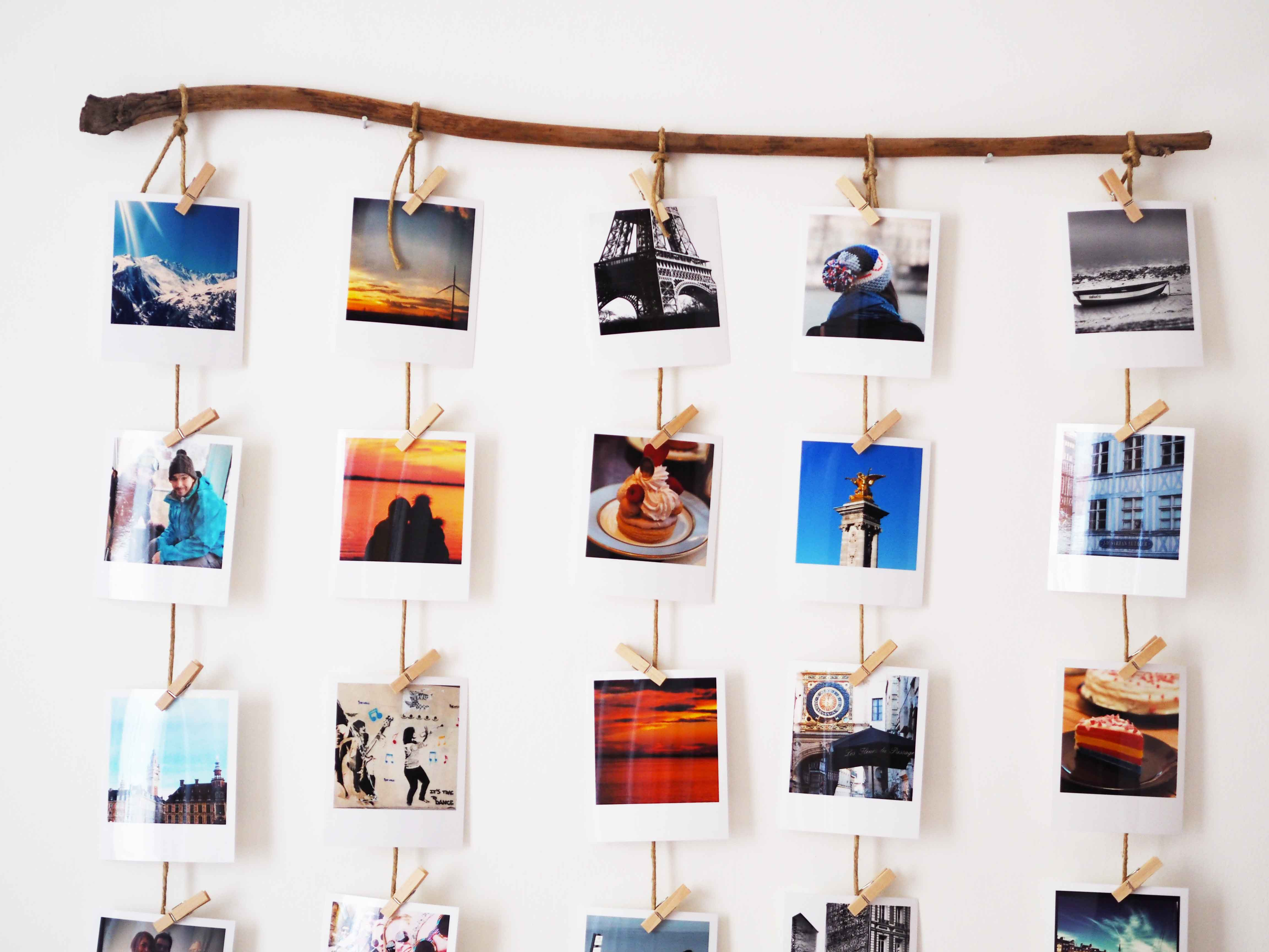 Cadre Photo Pour Polaroid Diy Comment Accrocher Ses Photos Polaroïd Like A Bobo