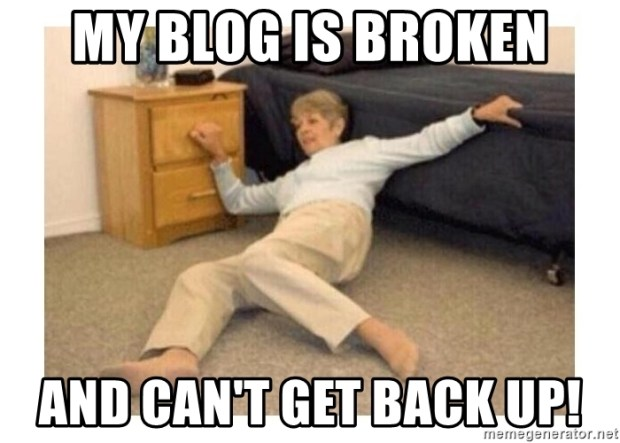 my-blog-is-broken-and-cant-get-back-up