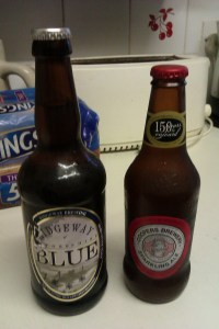 The Beer Ashes - Second Test. Ridgeway's Oxfordshire Blue v. Cooper's Sparkling Ale