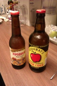 The Beer Ashes Fourth Test: Pipsqueak Cider vs. Reddaways Farmhouse Cider