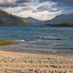 Lake Wanaka Outlet and Beach (Wanaka, New Zealand Gallery)