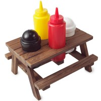 Picnic Table Condiment Set   Like Want Have