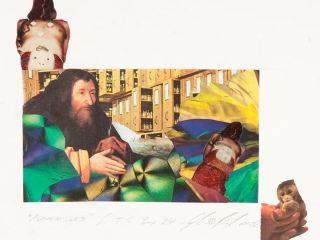 Genesis Breyer P-orridge: Alchemissed, 2002, mixed media, 30.5 x 35 cm