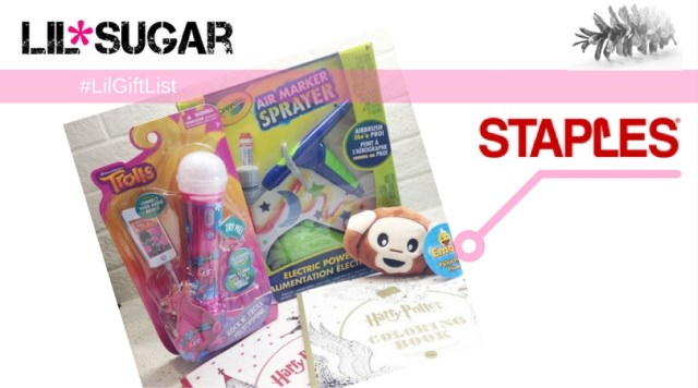 Staples Little Artist Toy Bundle #LilGiftList